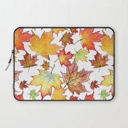 Autumn Maple Leaves Laptop Sleeve