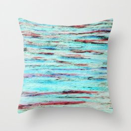 Color gradient and texture 33 Throw Pillow