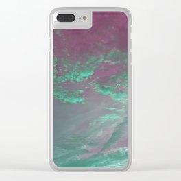 Cloud Trip Clear iPhone Case