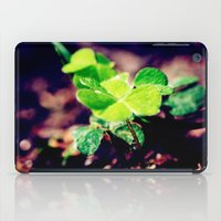 clover iPad Cases featuring Clover by Sushibird