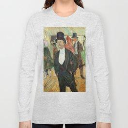 """Henri de Toulouse-Lautrec """"Monsieur Henri Fourcade au Bal de l'Opéra"""" Long Sleeve T-shirt"""