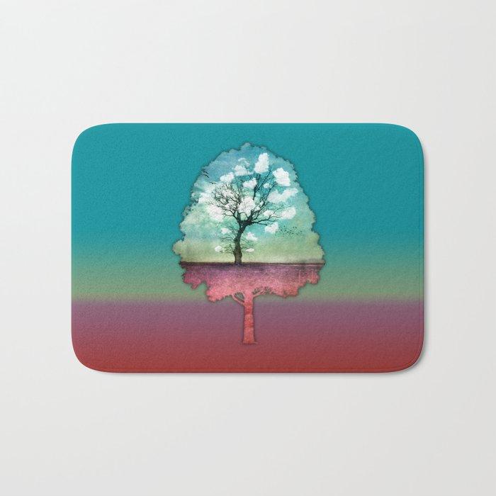 ATMOSPHERIC TREE | Pick me a cloud III Bath Mat