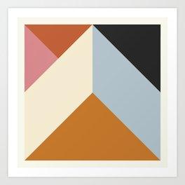 Ultra Geometric X Art Print