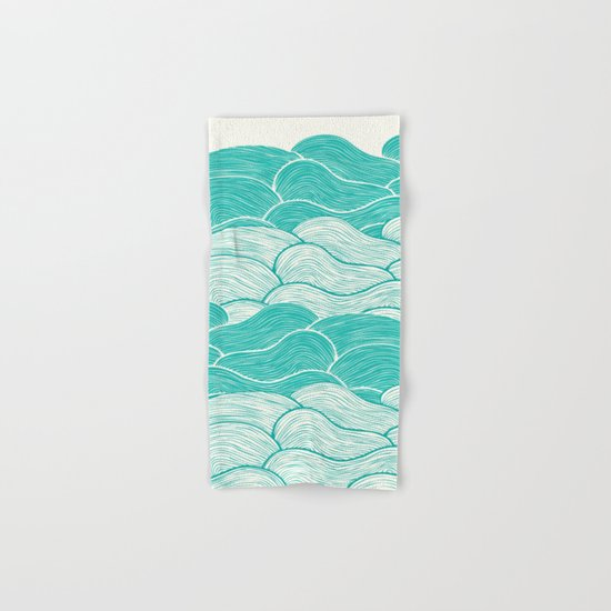 The Calm and Stormy Seas Hand & Bath Towel