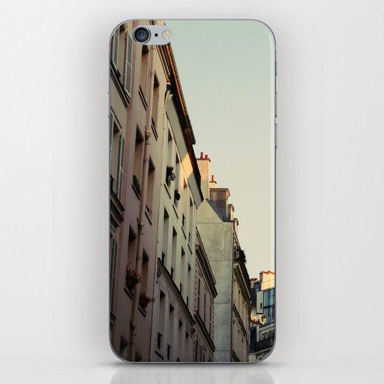 Pastel Paris iPhone & iPod Skin