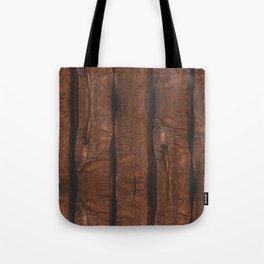 Rustic brown old wood Tote Bag