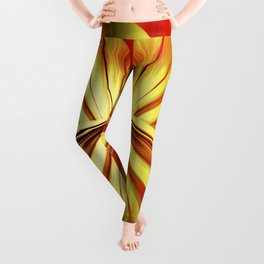 Butterfly gold Leggings