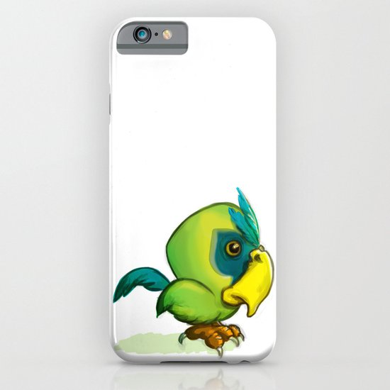 Green Parrot iPhone & iPod Case