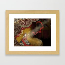 Think of me Framed Art Print