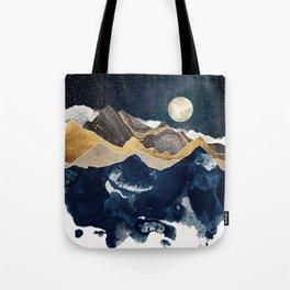 Midnight Winter Tote Bag