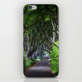 Dark Hedges, Northern Ireland. iPhone Skin