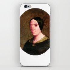 The Vitruvian Sisters (collage) iPhone & iPod Skin