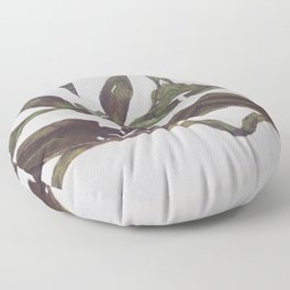 Olive Wings Floor Pillow
