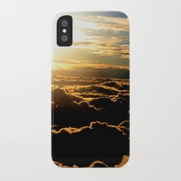 Sunset over the Atlantic Ocean iPhone Case