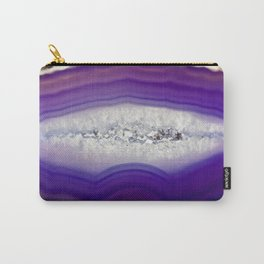 Purple Agate Carry-All Pouch