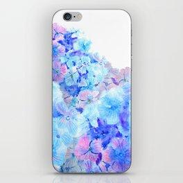 mountain of hydrangea iPhone Skin