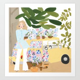 Lilly - Floral Rhapsody Series Art Print
