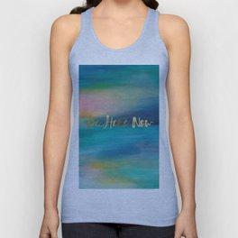 Be Here Now, Ocean Sunrise 4 Unisex Tank Top