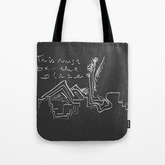 This Must Be the Place Tote Bag