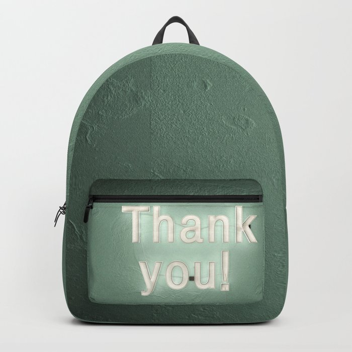 thank you ! Backpack