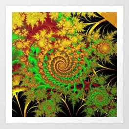 Swirls and Spirals Art Print