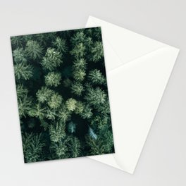 Forest from above - Landscape Photography Stationery Cards