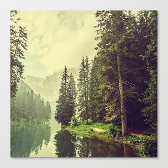 My mind is wandering Canvas Print
