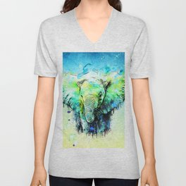 Pritty & Happy Unisex V-Neck