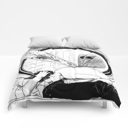 asc 451 - L'amante avide (Hungry mistress) Comforters