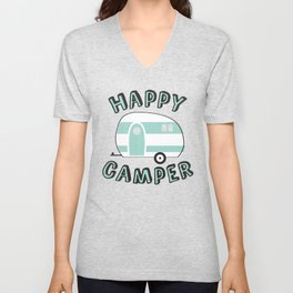 Happy Camper Unisex V-Neck