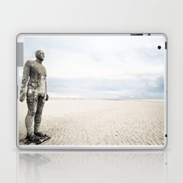 Crosby Beach Man  Laptop & iPad Skin