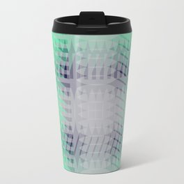 Polygon Abstract Background #society6 #decor #buyart #artprint Travel Mug