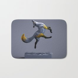 A Dancing Fox Bath Mat