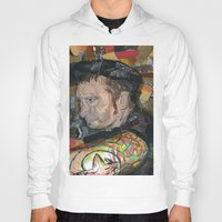 patrick Hoodies featuring patrick by rAr : Art by Robyn Ashley Rosner