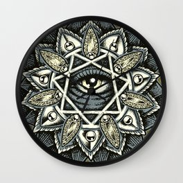 Seven Rays of Creation Classic Wall Clock