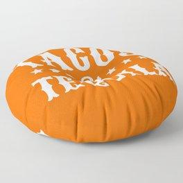 Tacos & Tequila (Orange) Floor Pillow