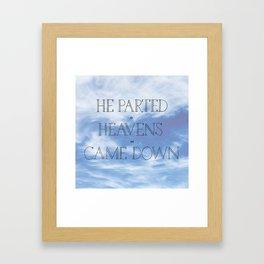Psalm 18 Framed Art Print