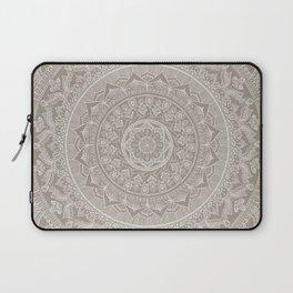Mandala - Taupe Laptop Sleeve
