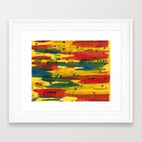 camo Framed Art Prints featuring Camo by Dariush Nejad