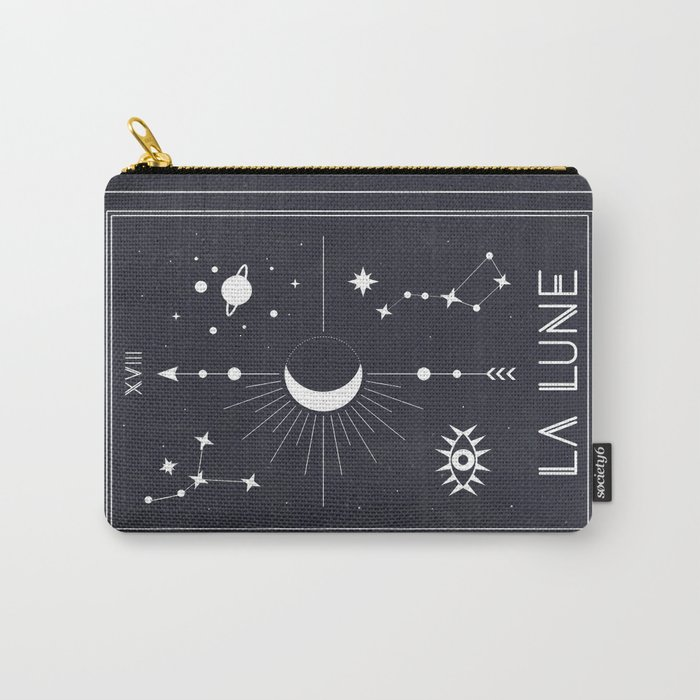The Moon or La Lune Tarot Carry-All Pouch