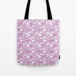 Elegant beautiful pink rose Tote Bag