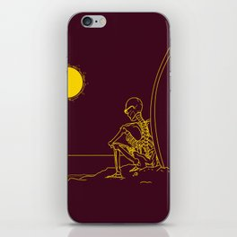 No waves, just waiting and relax (forever)... iPhone Skin
