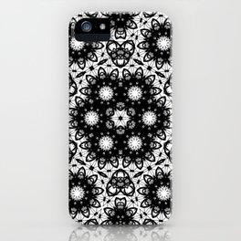 Atomic Mandala iPhone Case