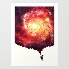 The universe in a soap-bubble! Art Print