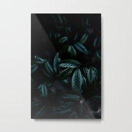 Dark Leaves 6 Metal Print
