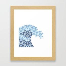Japaneese Wave Framed Art Print