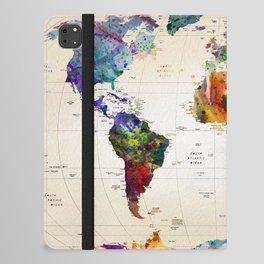 map iPad Folio Case