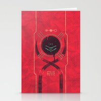 dead space Stationery Cards featuring Dead Space by Hector Mansilla