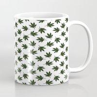 cannabis Mugs featuring Cannabis by WeedPornDaily