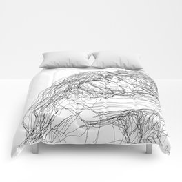 make-out? (B & W) Comforters